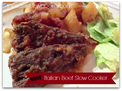 Italian Beef Slow Cooker Recipe