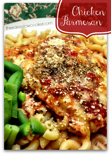 Slow Cooker Recipe for Chicken Parmesan
