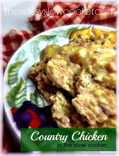 Country Chicken Breast Slow Cooker Recipe