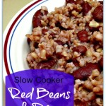 Slow Cooker Red Beans and Rice is delcious!