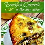slow cooker breakfast casserole recipes