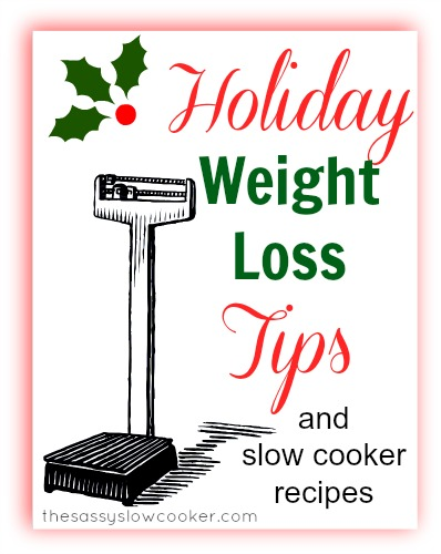 The TOP holiday weight loss tip