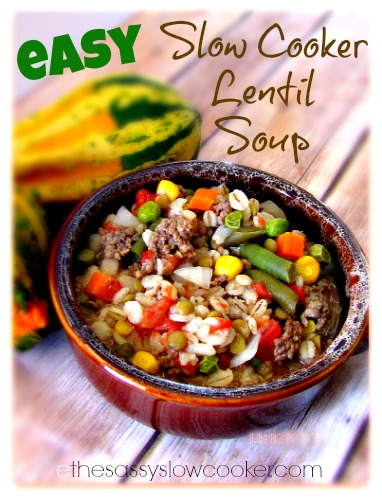 Hearty Beef Barley Lentil Soup Recipe