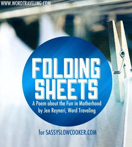 Folding Sheets, a Fun Poem about Motherhood (guest post)