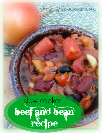 Crock Pot Beef and Bean Recipe