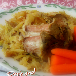 Simple pork roast in slow cooker