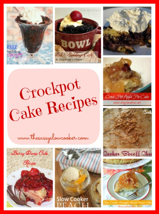 Crockpot Cake Recipes