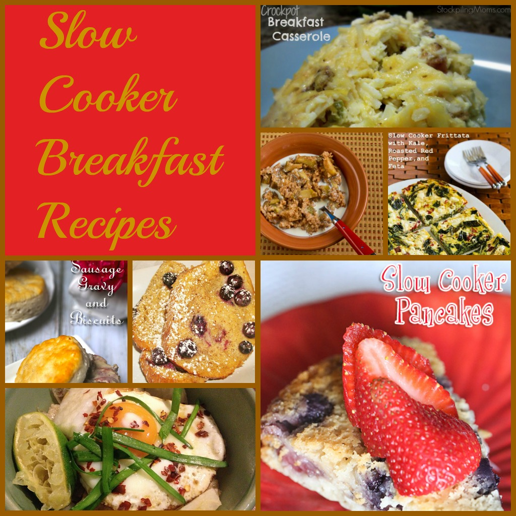 Slow Cooker Breakfast Recipes