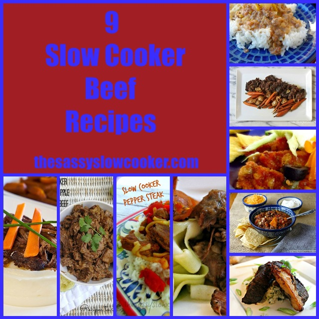 9 Slow Cooker Beef Recipes
