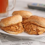 Slow Cooker Buffalo Chicken and Ranch Sliders