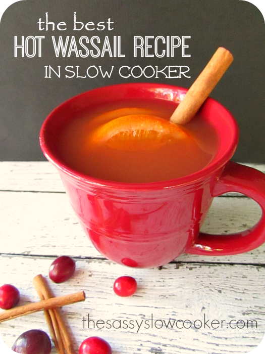 The Best Hot Wassail Recipe