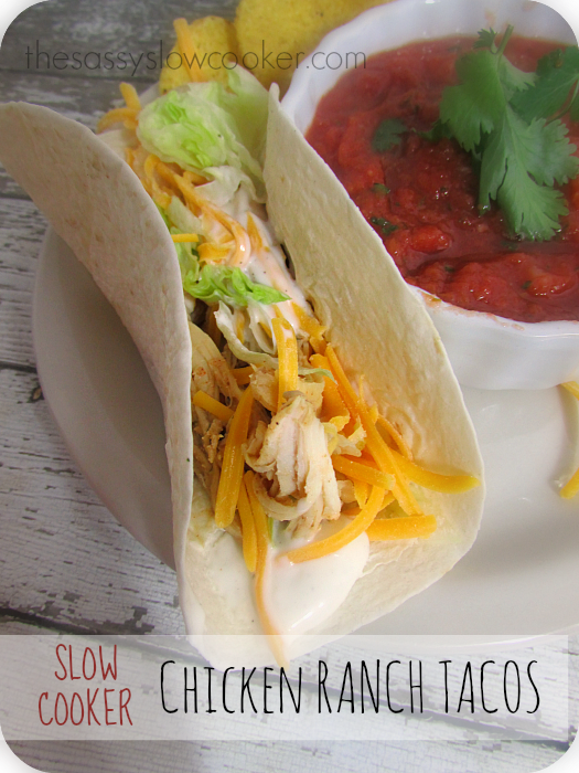 Chicken Taco Crock Pot Recipe