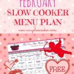 slow cooker menu plan