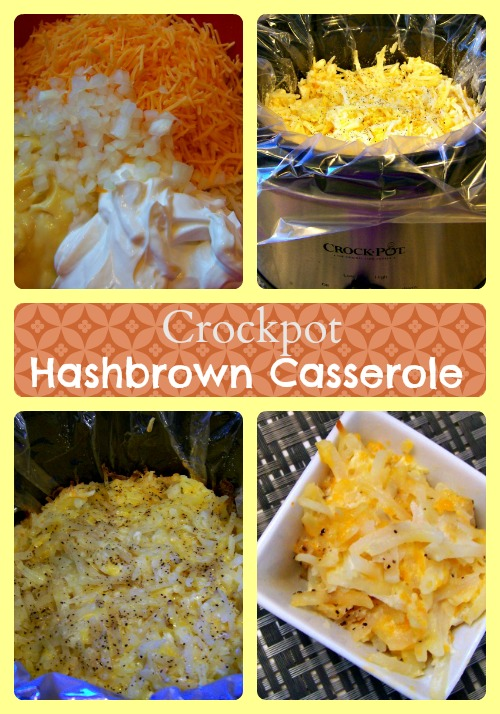 Crockpot Hashbrown Casserole