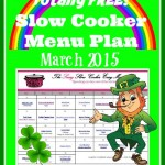 FREE Slow Cooker Menu Plan for March 2015