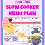 april slow cooker menu plan