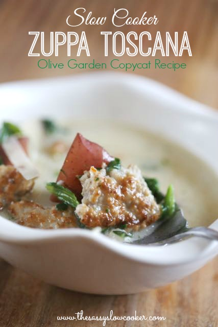 Slow Cooker Zuppa Toscana Copycat Recipe