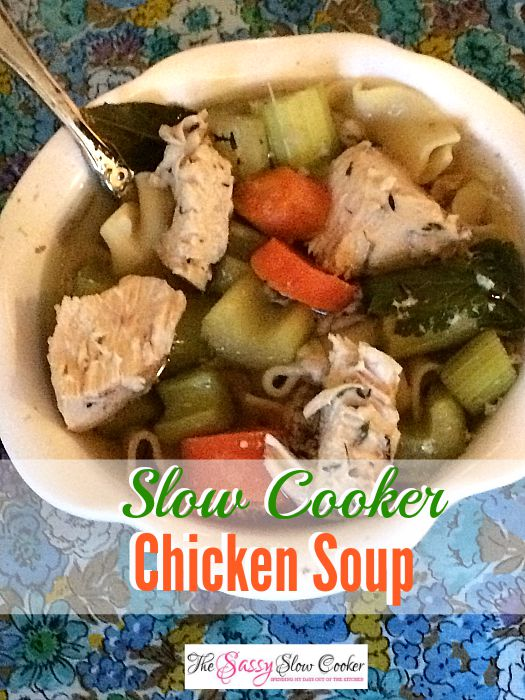 Crockpot Chicken Soup Recipe