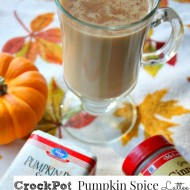 CrockPot Pumpkin Spice Latte Recipe