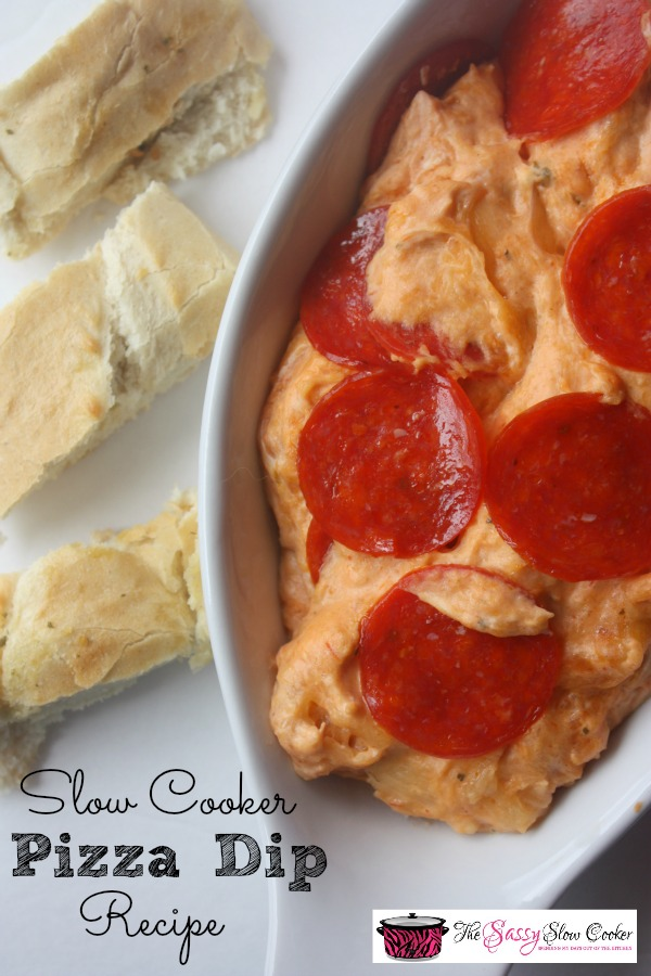 Slow Cooker Pizza Dip Recipe