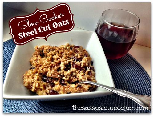 Hearty Slow Cooker Oatmeal Recipe!