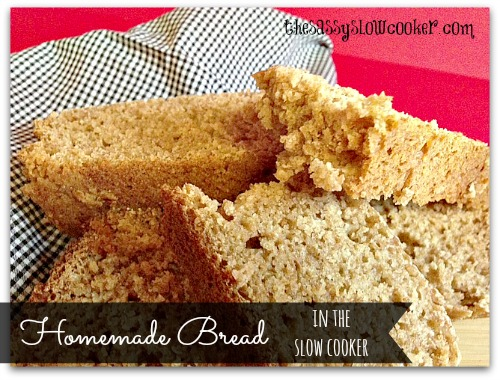 Honey Wheat Bread in the Slow Cooker