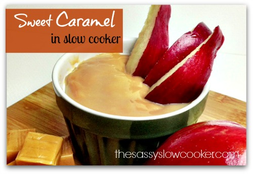 Easy Caramel in the Slow Cooker!