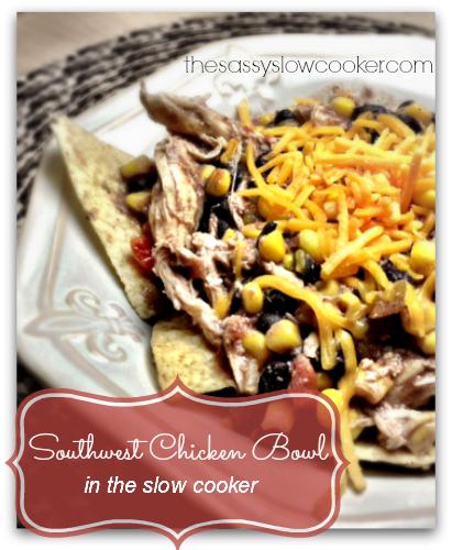 EASY Southwest Chicken in Slow Cooker!