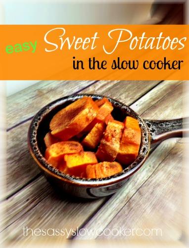 Slow Cooker Recipe for Sweet Potato (Yams)