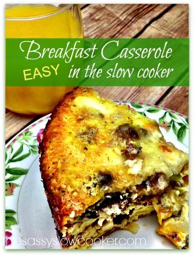 Slow Cooker Breakfast Casserole Recipes