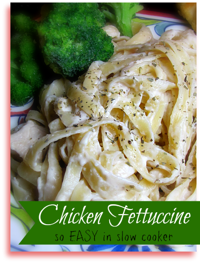 Slow Cooker Chicken Fettuccine Recipe