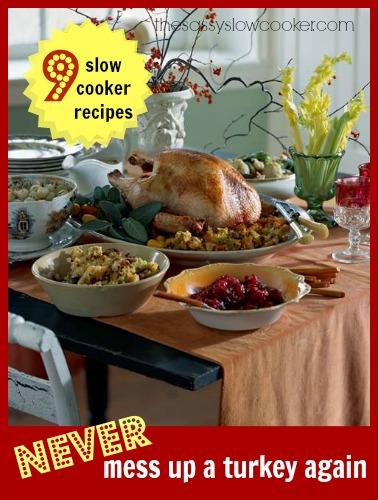9 Slow Cooker Turkey Recipes!