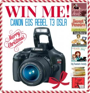HUGE Canon Giveaway! Win one for Christmas!