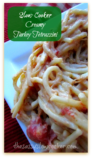 Slow Cooker Recipe Turkey Tetrazzini