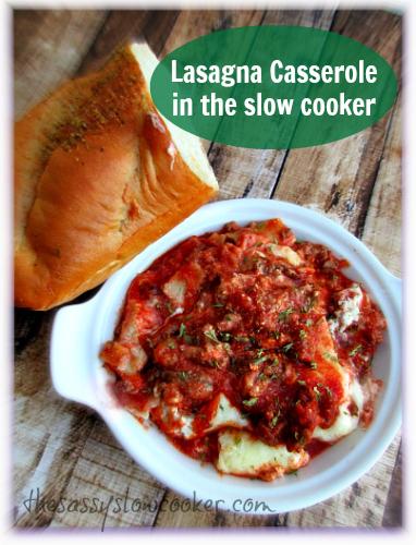 Slow Cooker Lasagna Recipe!