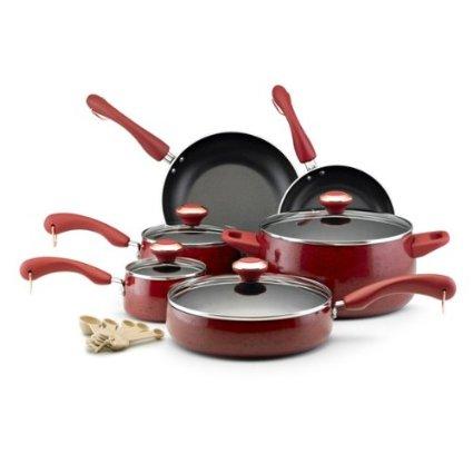 Do you want to win A Paula Deen 15-Piece Cookware Set?