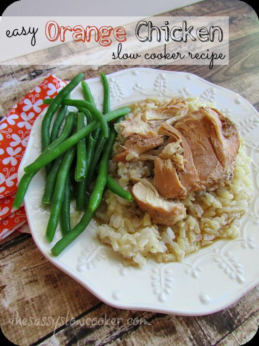 EASY Orange Chicken Crock Pot Recipe!