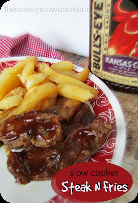 Slow Cooker Steak N Fries Recipe