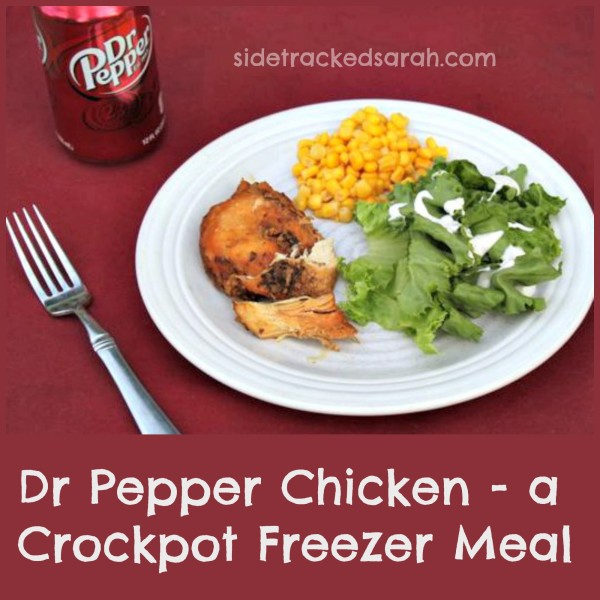Dr. Pepper Chicken – Freezer to Slow Cooker!