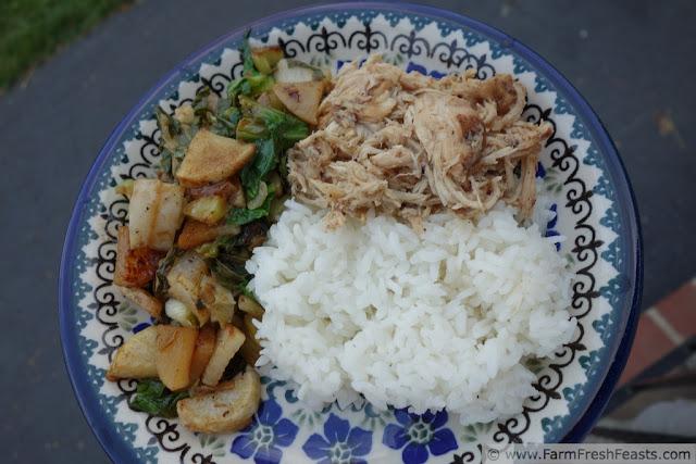 Crock Pot Chicken Adobo