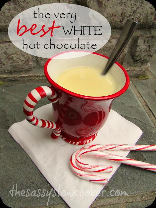 White Christmas Hot Chocolate!
