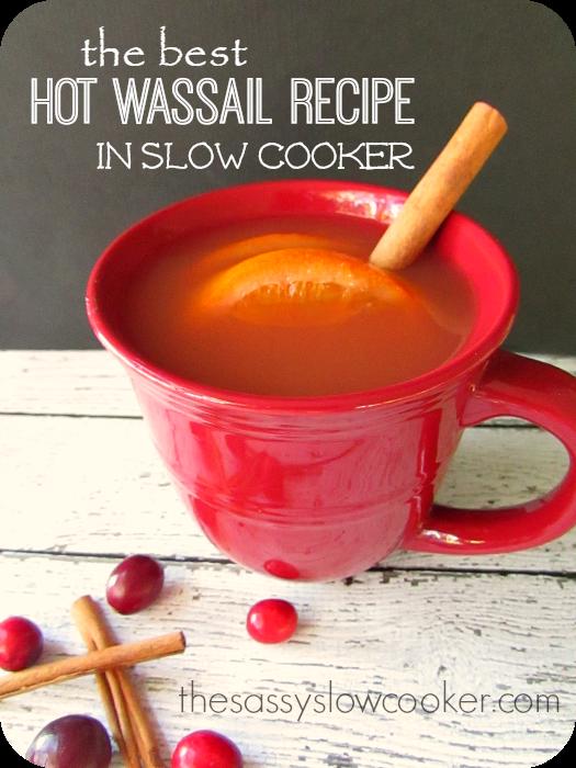 The Best Hot Wassail Recipe