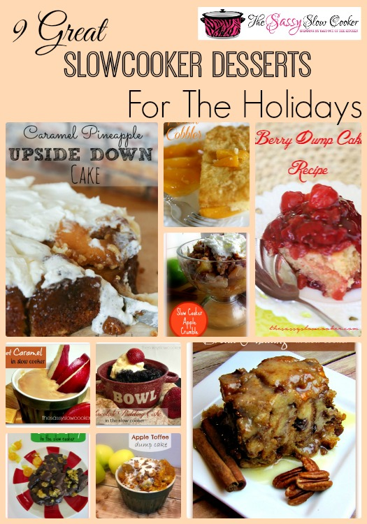 9 Great Slow Cooker Desserts for the Holidays