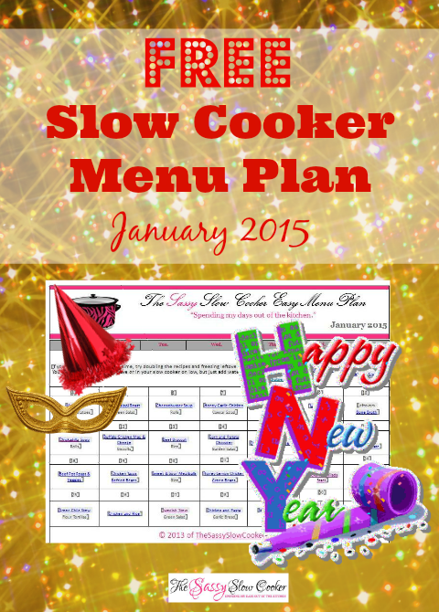 Slow Cooker Family Friendly Menu Plan – January 2016