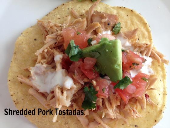 Shredded Pork Tostadas