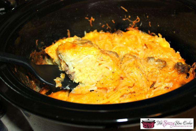 Slow Cooker Breakfast Casserole Recipe