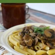 Pasta with Mushroom Sauce