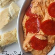 Slow Cooker Pizza Dip Recipe